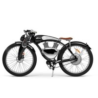 Retro Luxury Ebike Style Powerful Electric Bicycles Motorcycle Scooter Munro 3.0 With Pedal Assist Electrical Bicycle Cruiser E-bike Sea Delivery