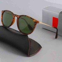 4171 tasarımcı marka UV400 gözlük metal çerçeve erkek ve kadın güneş gözlüğü polaroid cam kutuları ile toplam 6 renk