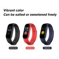 M6 Smart Bracelet Watch Fitness Tracker Real Heart Rate Blood Pressure Monitor Color Screen IP67 Waterproof For Sport