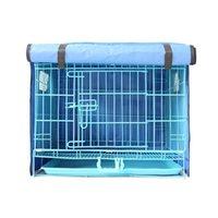 Питомные ручки PET Dog Cage Cover Cover Cat Cat Hatch Водонепроницаемый Playpen Crate Дышащие антимоскитные расходные материалы