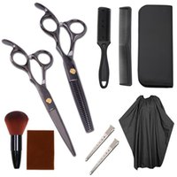 Hairdressing Scissors Hair Clippers Professional Barber Cutting Thinning Cape Barbershop Hairs cut Shears Scissor for Hairdressers Set Kit