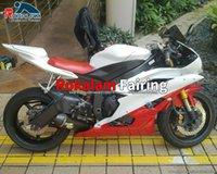 Red White Fairings For Yamaha YZF R6 YZF-R6 06 07 Bodyworks YZF 600 YZF600 2006 2007 ABS Cowling (Injection Molding)