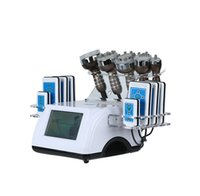 6 IN 1 Ultrasonic Cavitation Vacuum Slimming Machine Lipo Laser Radio Frequency RF Salon Spa Beauty Equipment