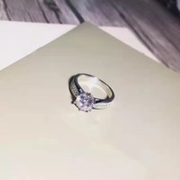 Luxury Fashion Classic Designer Sterling Silver Love Ring Jewelry high quality wedding gifts for women good nice