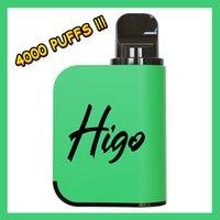 4000 Puffs Higo Magic Electronic Cigarettes 5% Nic Mesh Coil 1200 mAh battery 10 ml E-liq 11 Flavr OEM Original Disposable Vape vs VIDGE Maxx