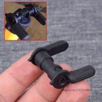 223 5.56 Selettore di sicurezza AR Selettore antincendio AR Switch MIL-SPEC Carbon 8620 Pulsante ausiliario in acciaio per accessori tattici AR-15 M4
