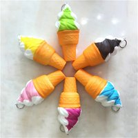 Cream Straps Soft Squishy Slow Rising Squeeze Squishies Toys for Bags Cell Phone Kids Toy Random Color Super Cute Jumbo
