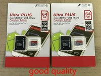 DHL Expédition de haute qualité Nouveau Ultra A1 32GB / 64 Go / 256 Go SDK Micro Memory SD Card 100Mb / s UHS-I C10 C10 TF Carte avec adaptateur