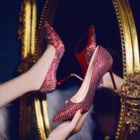 Dress Shoes Cresfimix Women Fashion High Quality Sexy Stiletto Heels For Wedding Lady Silver Bridal Party Night Club A9253
