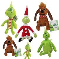 """Weihnachtspuppe Wie der Grinch gestopfte Plüschtier Weihnachtsgeschenke für Kinder Größe 11,8 """"30 cm auf Lager"""