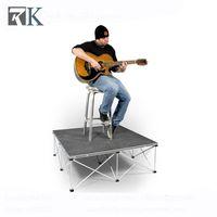 Concert Wedding Event Portable Smart Stage Durable Platform Folding Riser Camp Furniture