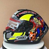 Shoti x14 Marquez Hickman Capacete Capacete de Motocicleta de Rosto (Não-Capacete Original))