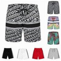 2021 Mens Womens Designer Shorts Verão Moda Solta Streetwears Roupas de Secagem Rápida Printing Board Board Pants Beach Calças Homem S Swim