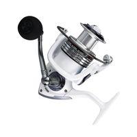 HC1000-7000 Carrete de pesca de aluminio Spinning para agua salada o perla de agua dulce Herramienta blanca herramienta Baitcasting Reels