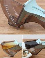 Strumenti di misura della cucina di modo Strumenti di misurazione ambientali Scala di plastica Cucchiai regolabili Set Set Tool PP + ABS + TPR