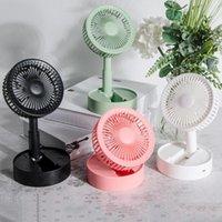 Electric Fans Eloole вентилятор портативный настольный ручной работы складной вентилятор, необходимый для летнего путешествия Portátil
