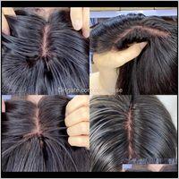 Pelucas Base de seda Real Scalpo Human Scalp Natural Look 4x4 Encaje Frente Cierre Cierre Peluca 180 Excisión Densidad Peruana Pelo Peruano LLI8P UB8MS