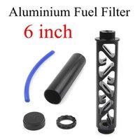 6inch Car Fuel Filter Solvent Trap 1 2-28 For NAPA 4003 WIX 24003 Aluminium Fuel-Filter 1 2x28 Filtro NAPA5x8-24