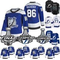 2021 Stanley Cup Champions Steven Stamkos Jersey Tampa Bay Lightning 2020 Champions Johnson Point Palat Kucherov Hedman McDonagh Vasilevskiy Reverse Retro Jersey