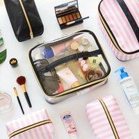 4 قطع سيدة أكياس التجميل مجموعة أدوات ماكياج المحمولة المنظم حالة أدوات الزينة الغرور الحقيبة حقيبة السفر الملحقات التموين المنتج 210226