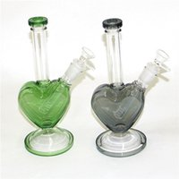 Glass Bong Water Pipes Silicone Oil Rigs mini bubbler bongs Hookahs with Bowl nectar collector wax dabber tools