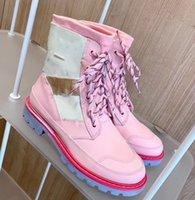 مصمم العجائب Ranger Beaubourg النساء أحذية الكاحل إمرأة كالفسكين مارتن الجوارب الأزياء التمهيد جودة عالية الفضي للسيدات ديسكفري 35-41