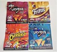 Doritos Özelleştirilmiş Chipps Yenilebilir Mylar Paket Ekşi Çerezler Çanta Ambalaj Orijinal Peynir Koku Geçirmez Fermuar Kilidi