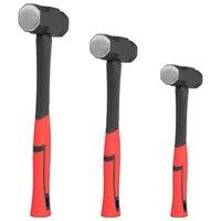 Heavy Duty Hammer High Carbon Acciaio Professionale Anti Corrosione Double Face Slitta 2/3/4 LB Strumenti a mano