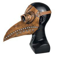 Punk Leather Plague Doctor Mask Birds Cosplay Costume Carnaval Puntelli Mascarillas Maschera da festa Maschera Maschere Maschere Halloween 1060 B3