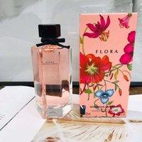 Hohe Marke Dame Parfüm Flora Wunderschöne Gardenie-Duft Frische und angenehme 100ml Attraktive Frau Schnelle Lieferung
