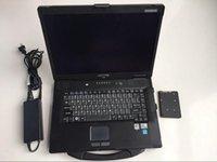 Code Readers Scan Tools Software for ICOM A2 Next A2 + B + C ISTA- وضع الخبراء Inpa في USSed Laptop Toughbook CF52، 4G جاهز