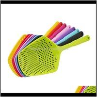 Utensils Cooking Shovels Vegetable Scoop Nylon Spoon Large Colander Soup Filter Pasta Heat Resistant Strainer Kitchen 143Ji Wpyzr