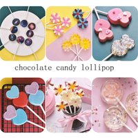Lolli Silicone Mold 3D Hand Made Sucker Sticks Chocolate Cake Jelly Candy With Party Decoration CCD3486 OLOV