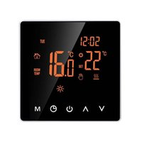 Smart Home Control LCD-Display-Schule Hochleistungs-Schlafzimmer Touchscreen Thermostat-Büro Programmierbare Flammschutz-PC-elektrische Heizung
