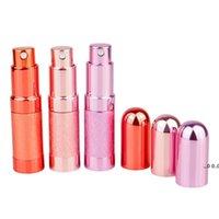 6 ml Mini Bullet Parfüm Şişe Sprey Alüminyum Tüp Boş Şişe Kozmetik Dağıtıcı Taşınabilir Küçük Şişe RRE10611