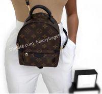 mulheres homens sacos mochilas viajar mochila mini escola lvLOUISSaco Vitton Palm Springs