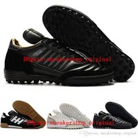 2018 original mens soccer cleats copa MUNDIAL TF TURF GOAL INDOOR soccer shoes Mundial Team Astro Craft football boots scarpe calcio New VGE