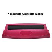 Rauchen Zubehör Rollings Zigarettenhersteller Tragbare Kunststoff Manuelle Zigaretten Rollmaschine Tabak Rauchpapiere Rollyer EEB6068