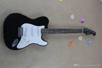 Parmak plakası bir adet ahşap elektro gitar stratocaster elektro gitar parçası