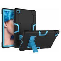 Casi di protezione dei tablet PC per iPad Pro 11 12.9 2021 10.2 8 ° Gen Air 4 mini 5 Kackstand Shell in silicone antiurto