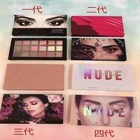 Hot Makeup Huda Eyeshadow Palette Naughty Nude 18 Color Eye Shadow Shimmer Matte NUDE Eyeshadow Beauty Cosmetics Christmas gift
