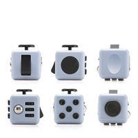 Fidget Cube Toys Stress Relief Squeeze Fun Decompression Anxiety Toys Boredom Attention Magic Cube Toys Fidget busy Gift DHL shipping DH15
