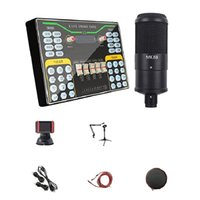 Sound Cards X9 Douyin Kuaishou K Song Recording Device Dual Mobile Phone Live Broadcast Anchor 2-Channel USB Card Set