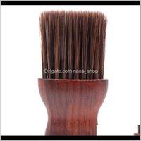 Pinceaux outils d'entretien produits goutte drop livraison 2021 coupe de cheveux pinceau bricolage rasage cou nettoyage coiffure outil de coiffure visage poils cassé cheveux bardber s