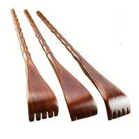 Massagem Relaxamento Mão Handy Bambu Massager Back Scratcher Wood Body Stick Roller Cuidados de Saúde 1549 T2