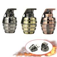Cle usb Metal Retro Hand Grenades Pen drives USB2.0 8gb 16GB 64GB 4gb 32GB Pendrive Flash Drive Creative Cool