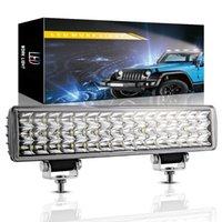 12Inch Arbeitslicht 48LED Triple Row Combo-Strahl-LED-Leuchten-Bar für Auto-Traktorboot Off Road 4WD 4x4 Truck SUV ATV-Fahren