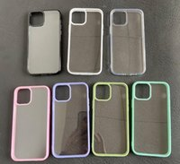 Mode Acryl Hüllen Matte Clear Phone Case Transparente Rückseite Abdeckung Protector für iPhone 12 Mini PRO MAX X XR xs