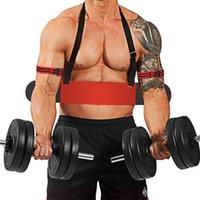 Accessori Braccio per sollevamento pesi Braccio Curl Triceps Forearm Trainer Regolabile Bodybuilding Bodybuilding Gym Dumbbells Bicipiti Bicipite Scheda Treno Fitness Equipme