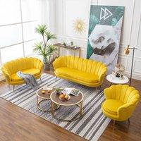 غرفة المعيشة أريكة الأثاث المنزلية الأريكة الحديثة أريكة كراسي ضوء الفاخرة أحادية واحدة الشمال كسول شقة صغيرة كرسي مزدوج
